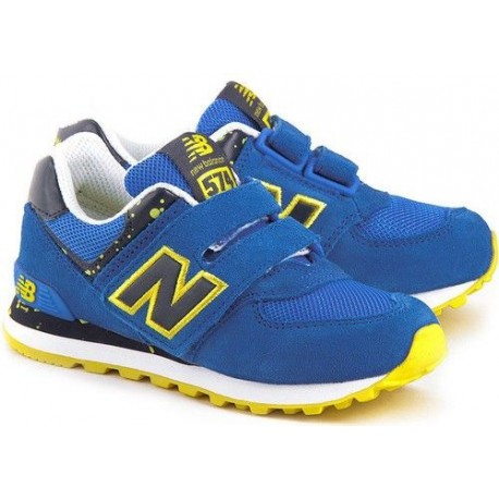 new balance azul amarillo