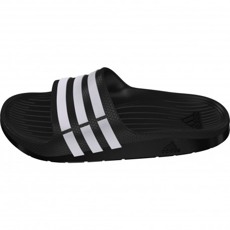 e931eeb60a OFERTA!   Adidas Chanclas Duramo Slide K negro   Compra con descuento