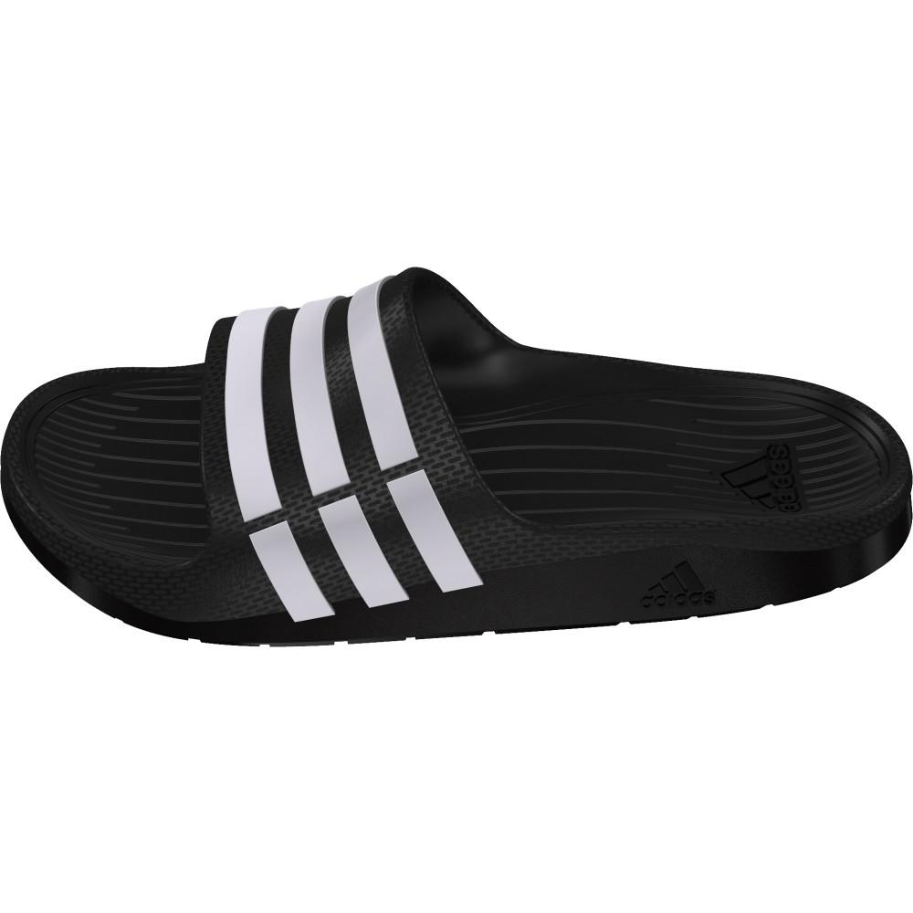 industria Trampas Fatal  Adidas CHANCLAS DURAMO SLIDE K Negro | Junior | Oferta ahora