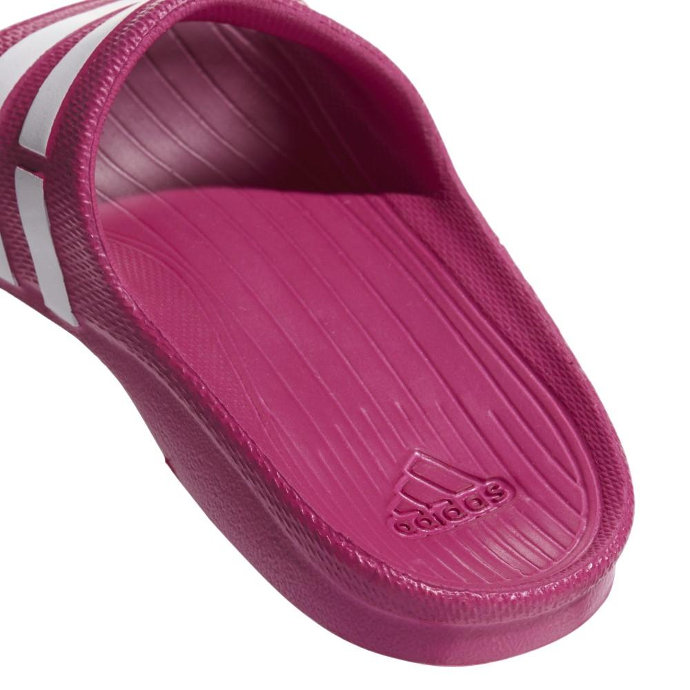 9c4b1729e ... Adidas Chanclas Duramo Slide K rosa ...