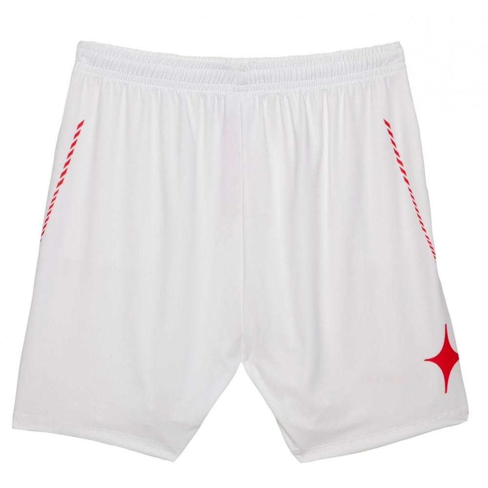 sitio de buena reputación e7a2a cf624 StarVie Pantalón corto Short Net blanco/rojo