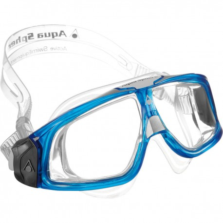 Aqua Sphere Gafas de bucear Seal 2.0 azul/blanco