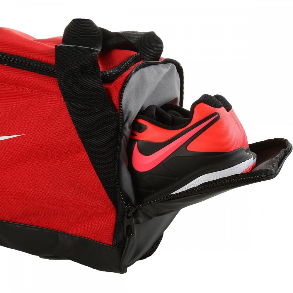 SmallDuffel Deporte Rojo Nike Brasiliaextra Bolsa De Bag srtQChd