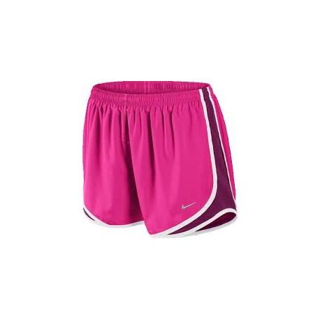 Extra-Small NIKE Tempo Shine Pantalones Cortos Ni/ñas Blanco//Negro